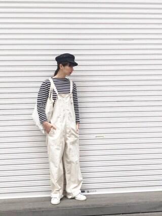 Kazumiさんの「SAINT JAMES/セントジェームス OUESSANT(FREAK'S STORE|フリークスストア)」を使ったコーディネート