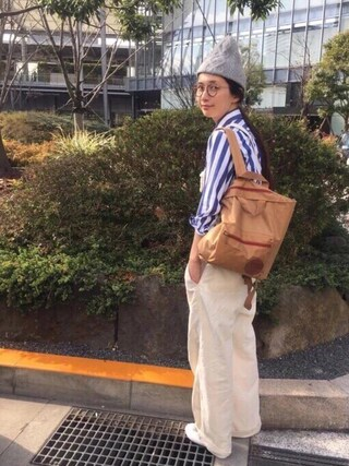 「MP-2(OLIVER PEOPLES)」 using this Kazumi looks