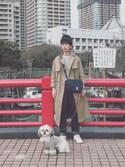 Kazumiさんの「SAC VIENNE 16AC(A.P.C.|アー・ペー・セー)」を使ったコーディネート