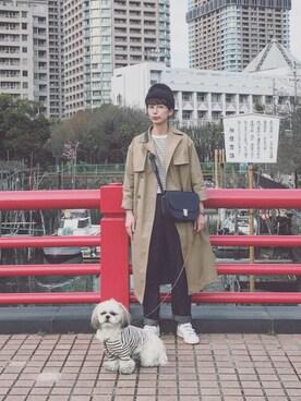 Kazumiさんの「COVENTRY / コヴェントリー(Traditional Weatherwear|トラディショナルウェザーウェア)」を使ったコーディネート