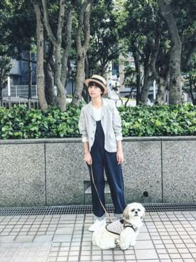 Kazumiさんの「Hanes/へインズ パックTEE-Japan Fit-(FREAK'S STORE|フリークスストア)」を使ったコーディネート