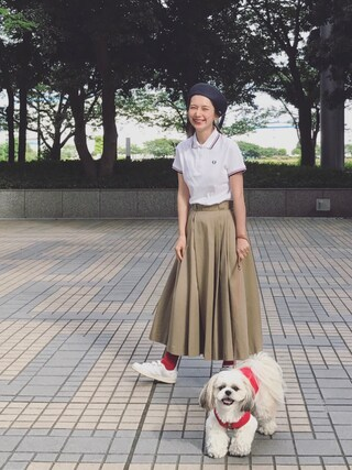Kazumiさんの「Twin Tipped Fred Perry Shirt (Made in England)(FRED PERRY|フレッドペリー)」を使ったコーディネート