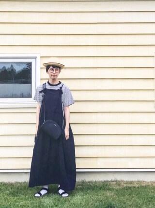 Kazumiさんの「BOUND PANAMA(MARGARET HOWELL|マーガレットハウエル)」を使ったコーディネート