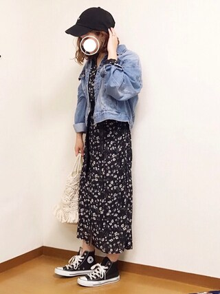 「JZアソートハナガラシャツワンピース 748492(LOWRYS FARM)」 using this welina* looks