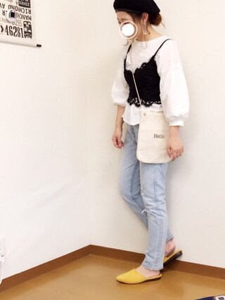 「501(R) SKINNY 【WEB限定】CLEAR MINDS(501(R) Skinny)」 using this welina* looks