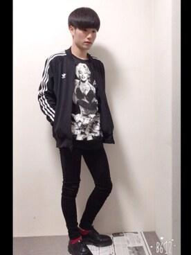 kazukiさんの(adidas|アディダス)を使ったコーディネート