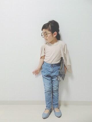 (韓国子供服) using this *tricot* looks