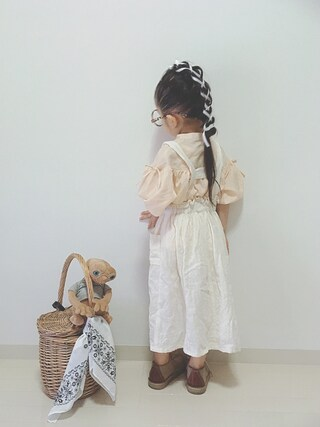 「【MPS】ギャザーブラウス(ジュニアサイズ150~160cm)(Right-on)」 using this *tricot* looks