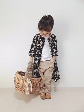 「【MPS】花柄ガウンワンピース(Right-on)」 using this *tricot* looks