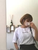 sakamoto shizukaさんの(ZARA ザラ)を使ったコーディネート
