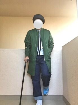 Ren Saitoさんの(polcadot|ポルカドット)を使ったコーディネート