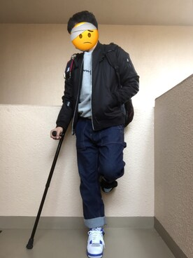 Ren Saitoさんの(杖)を使ったコーディネート