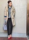 hanaさんの「足にFIT☆痛くなりにくい美脚パンプス[XS~3L]クアトロクッション☆機能系9cmヒールポインテッドトゥパンプス/神戸レタス[I1030](KOBE LETTUCE|KOBE LETTUCE)」を使ったコーディネート