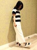 ionkumamotoさんの「春夏新作★スポーツサンダル★7211(ORiental TRaffic|オリエンタルトラフィック)」を使ったコーディネート