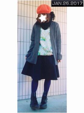 まっきぃ〜さんの(靴下屋|クツシタヤ)を使ったコーディネート