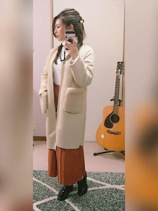 @:asukaさんの「WOMEN エクストラファインメリノタートルネックセーター(長袖)(ユニクロ|ユニクロ)」を使ったコーディネート