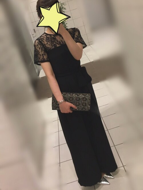 結婚式黒コーデ