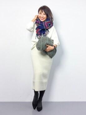 ZOZOTOWN|natsuさんの(SHIPS for women|シップスフォーウィメン)を使ったコーディネート