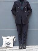 うじさんさんの「1940s~50s tailored jacket(VINTAGE|ヴィンテージ)」を使ったコーディネート