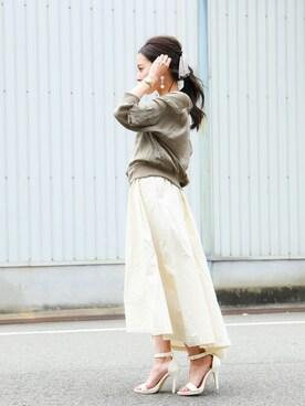 Fashion Letter|fashionletterさんの「MA-1 レディース サテンブルゾン ミリタリージャケット(Fashion Letter)」を使ったコーディネート