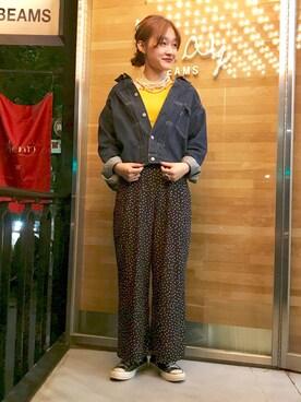 hazuki yoshizawaさんの「orslow / Monroe Jacket Special(orSlow)」を使ったコーディネート