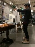 yasu Andoさんの「KURO/ CROW Denim Jacket One Wash(KURO|クロ)」を使ったコーディネート