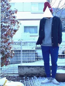 ケムマキさんの(GU|ジーユー)を使ったコーディネート