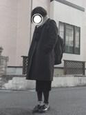 がちゃさんの「【美人百花 10月号掲載】【BAILA 10月号掲載】 Couture-line(クチュールライン) ニットスカートセットアップ(nano・universe|ナノユニバース)」を使ったコーディネート