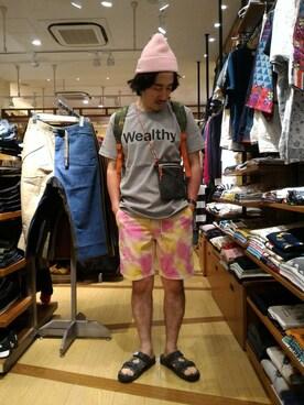 BEAVER渋谷店|authentic高橋さんの(narifuri|ナリフリ)を使ったコーディネート