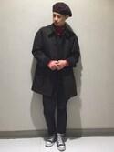 ひでさんの「◆WEGO/ストレッチデニムジャケット(WEGO ウィゴー)」を使ったコーディネート