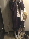 まみねーさんの「Metallic messenger bag(OKIRAKU|オキラク)」を使ったコーディネート
