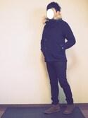 さっくさんの「rehacer : Tilt wool mods coat(rehacer|レアセル)」を使ったコーディネート