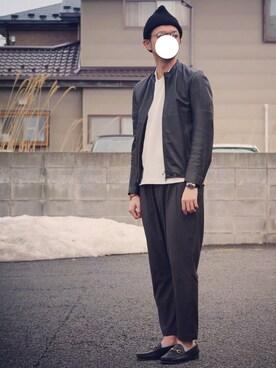 ryoさんの「EYEWEAR Men's/708260(GLOBAL WORK)」を使ったコーディネート