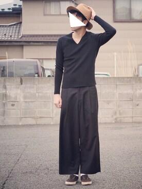ryoさんの(LOUNGE LIZARD|ラウンジリザード)を使ったコーディネート
