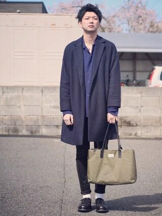 ryoさんの「Style Eyes L/S RAYON SHIRTS #(JOURNAL STANDARD|ジャーナルスタンダード)」を使ったコーディネート
