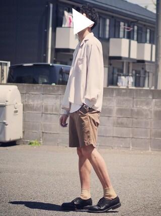 ryoさんの「サテンカイキンシャツ(HARE)(HARE|ハレ)」を使ったコーディネート