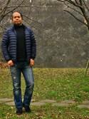Hidezumiさんの「MEN ウルトラライトダウンジャケット(ユニクロ|ユニクロ)」を使ったコーディネート