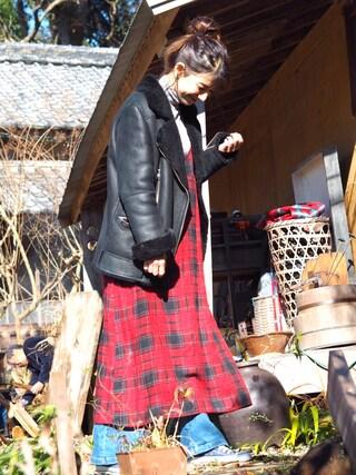 「【Omekashi】デニムタックパンツ(mystic)」 using this スザンヌ looks