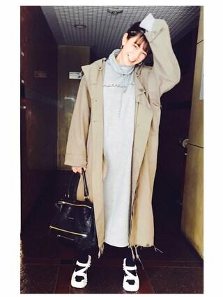 「`AUTHENTIC' SWEAT DRESS(G.V.G.V.)」 using this スザンヌ looks