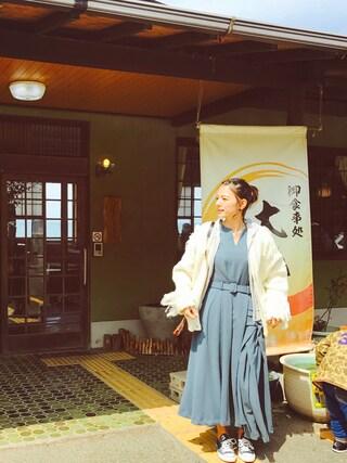 「OVERLAP TUCK DRESS(AMERI)」 using this スザンヌ looks