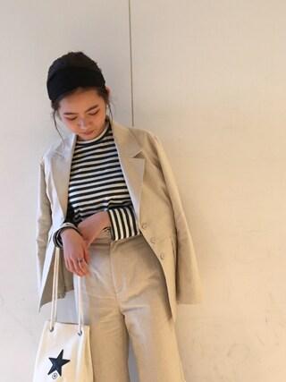 Mai Miyadokoroさんの(RIM.ARK|リムアーク)を使ったコーディネート