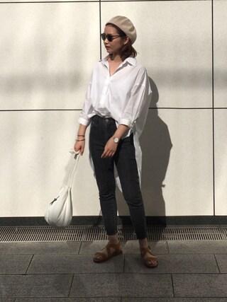 Mai Miyadokoroさんの「BACK FLARE SH(RIM.ARK|リムアーク)」を使ったコーディネート