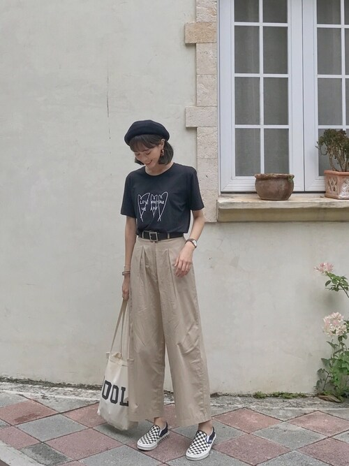 pon pon lin使用「CELEBEE(심플 니트 베레모)」的時尚穿搭