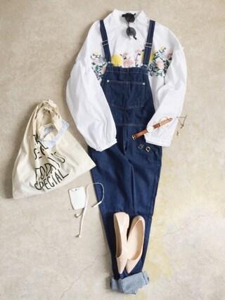 「マルシェバッグ / Marche Bag(CIBONE)」 using this ナチュラル服のイタフラ looks