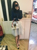 「Gucci Sylvie Small Top-Handle Satchel Bag(Gucci)」 using this stella looks
