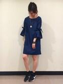 あさみんさんの「タックリボン袖(PAGEBOY|ページボーイ)」を使ったコーディネート