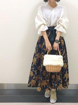 PAGEBOY静岡パルコ|あさみんさんの「CONVERSE コンバース キャンバス オールスター HI(CONVERSE)」を使ったコーディネート