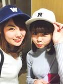 Shiori♡さんの「テレコVネックロンT(MULLER|ミューラー)」を使ったコーディネート