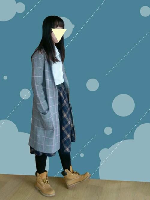 「WOMEN スーピマコットンストレッチシャツ(長袖)(ユニクロ)」 using this 凜凜 looks