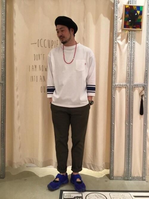 23度 服装 メンズコーデ クライミングパンツ 画像1
